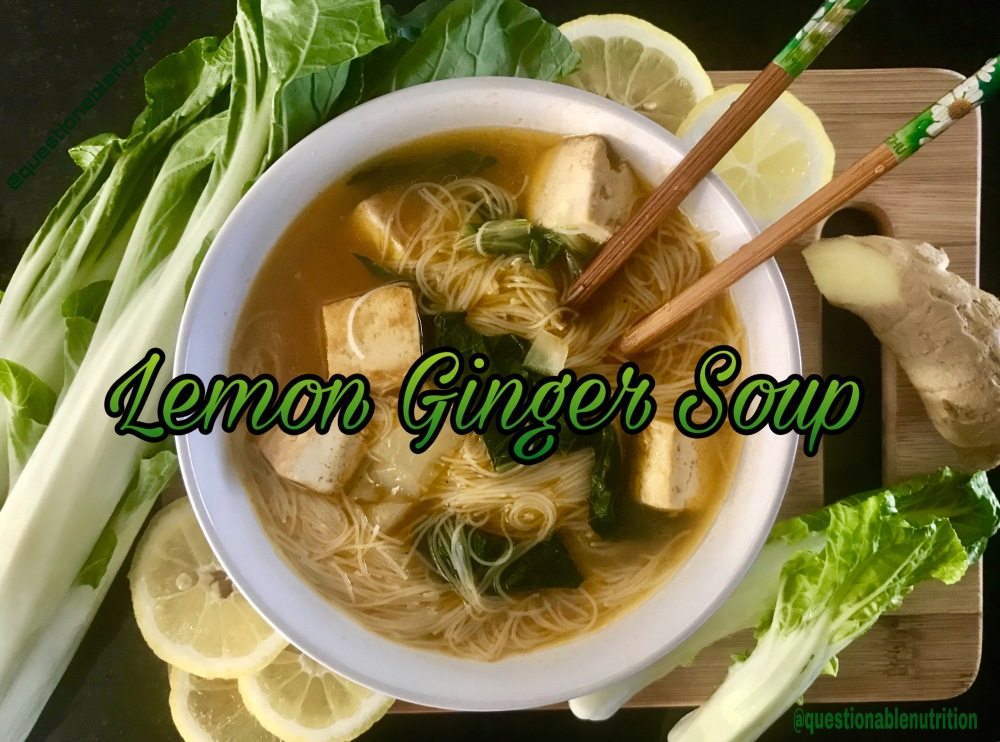 Lemon Ginger Soup 1